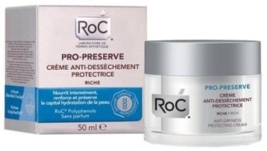 Roc Roc Pro Preserve Kuruluk Karşıtı Koruyucu Bakım Kremi 50 ml Renksiz